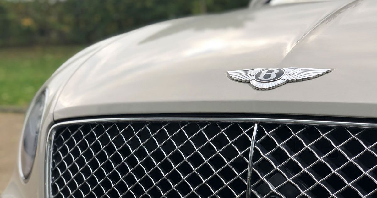 Bentley bonnet