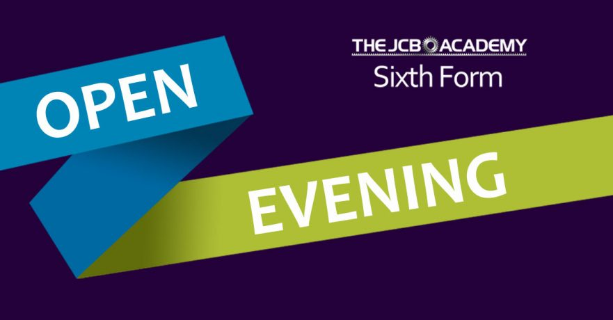 JCB Academy Sixth Form pen evening image